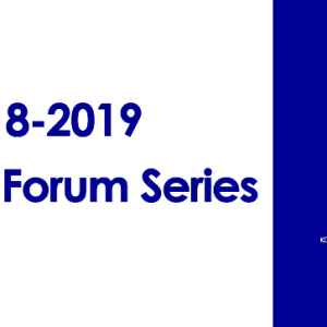 2018-2019 Fulbright Forum Series