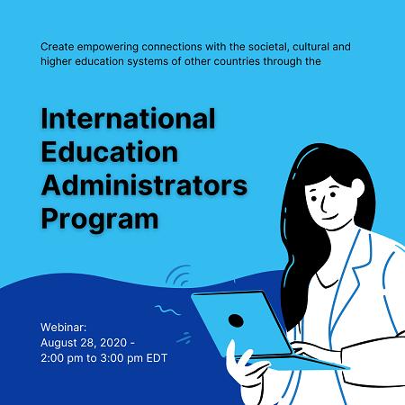 Webinar: International Education Administrators Program